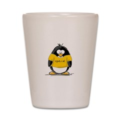 Special penguin Shot Glass