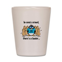 In Every Crowd Penguin Shot Glass