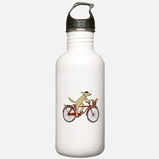 Dog & Squirrel Water Bottle