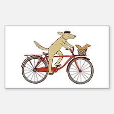 Dog & Squirrel Bumper Stickers