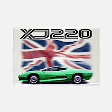 XJ220 Rectangle Magnet