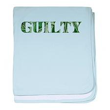 Guilty baby blanket
