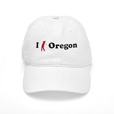 I Golf Oregon Baseball Cap