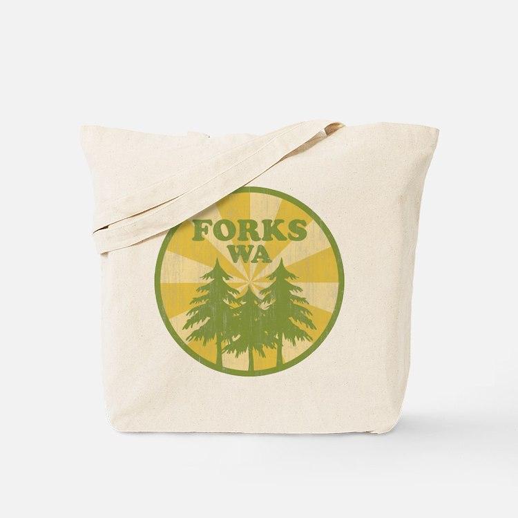 Forks, WA Tote Bag