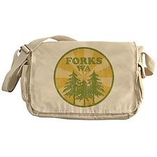 Forks, WA Messenger Bag