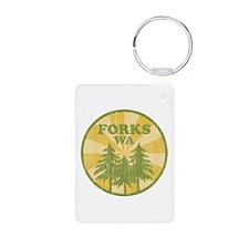 Forks, WA Keychains