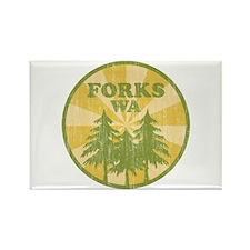 Forks, WA Rectangle Magnet