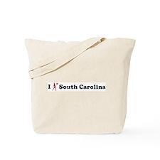 South Carolina Basketball Tote Bag