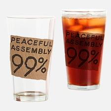 peaceful 99% cardboard Drinking Glass