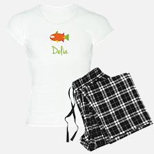 Delia is a Big Fish Pajamas