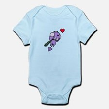 Winter Purple Devil Infant Bodysuit
