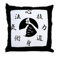 Kenpo Throw Pillow