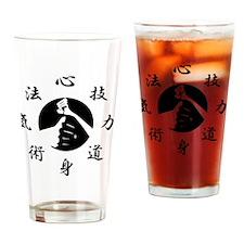 Kenpo Drinking Glass