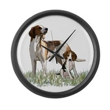 walker coon Hound Large Wall Clock