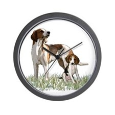 walker coon Hound Wall Clock