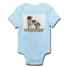 walker coon Hound Infant Bodysuit