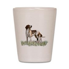 walker coon Hound Shot Glass