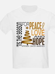 Christmas 1 Appendix Cancer T-Shirt