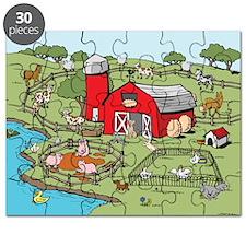 Cartoon Farm Puzzle