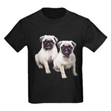 Pugs sitting T
