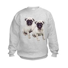 Pugs sitting Sweatshirt