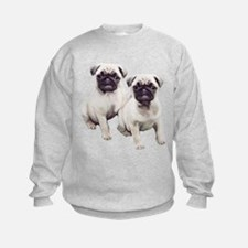 Pugs sitting Sweatshirt
