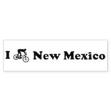 Mountain Bike New Mexico Bumper Bumper Sticker