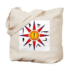 Sun Salutation Tote Bag