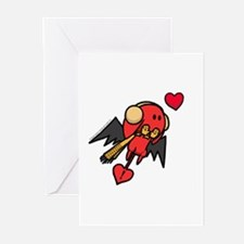 Winter Cupid Greeting Cards (Pk of 10)