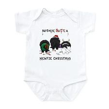Newfie Butt Xmas Infant Bodysuit