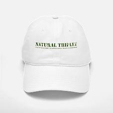 Natural Triplet Baseball Baseball Cap