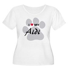 I Love My Aidi T-Shirt