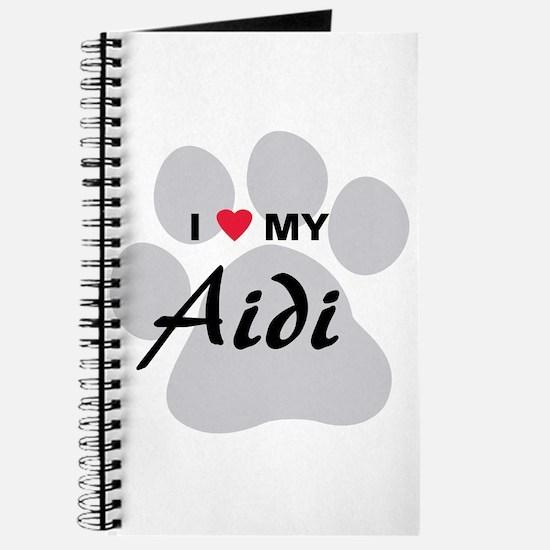 I Love My Aidi Journal