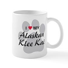 I Love My Alaskan Klee Kai Mug