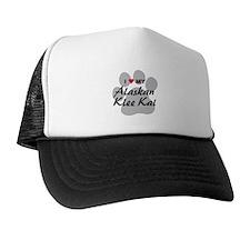 I Love My Alaskan Klee Kai Trucker Hat
