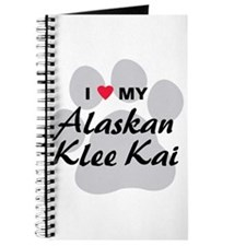 I Love My Alaskan Klee Kai Journal