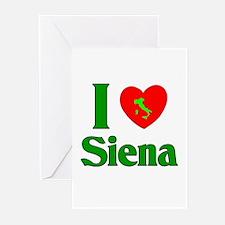 I Love Siena Greeting Cards (Pk of 10)