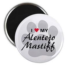 Love My Alentejo Mastiff Magnet