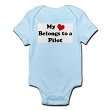 Heart Belongs: Pilot Infant Creeper