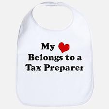 Heart Belongs: Tax Preparer Bib