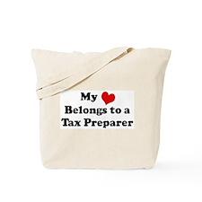 Heart Belongs: Tax Preparer Tote Bag