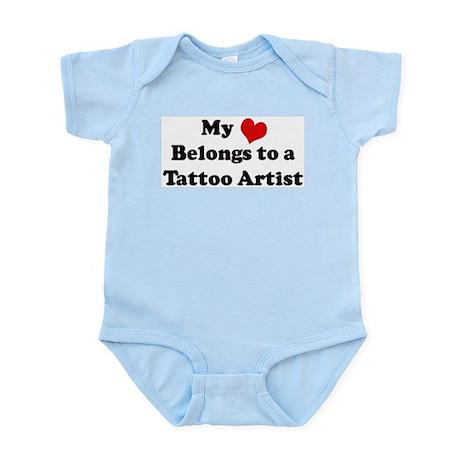 Heart Belongs: Tattoo Artist Infant Creeper