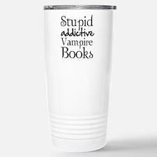 Stupid addictive vampire books Travel Mug