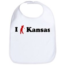 I Golf Kansas Bib
