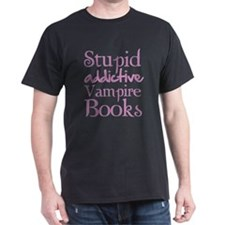 Stupid addictive vampire books T-Shirt