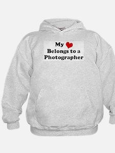 Heart Belongs: Photographer Hoodie