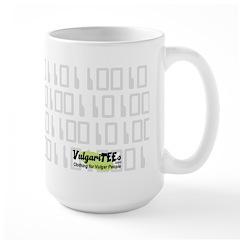 Kiss My ASCII Large Mug