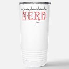 'NERD' Polypeptide Stainless Steel Travel Mug
