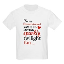 Vampire-loving sparkly twilight fan T-Shirt