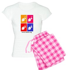 Colored Wood Block Women's Light Pajamas